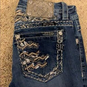 Miss me jeans straight leg size 26